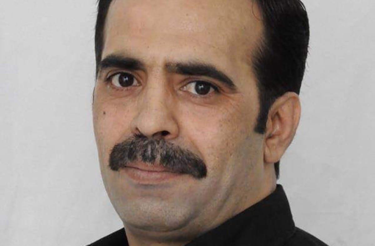 Palestinian political prisoner Daud Al-Khatib [PalPrisoners/Twitter]