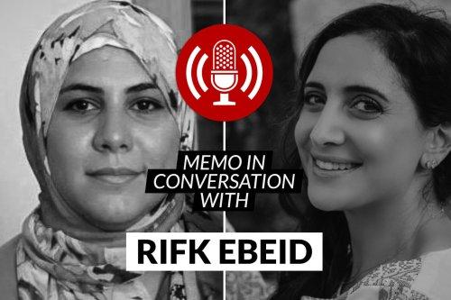 MEMO in conversation with: Rifk Ebeid