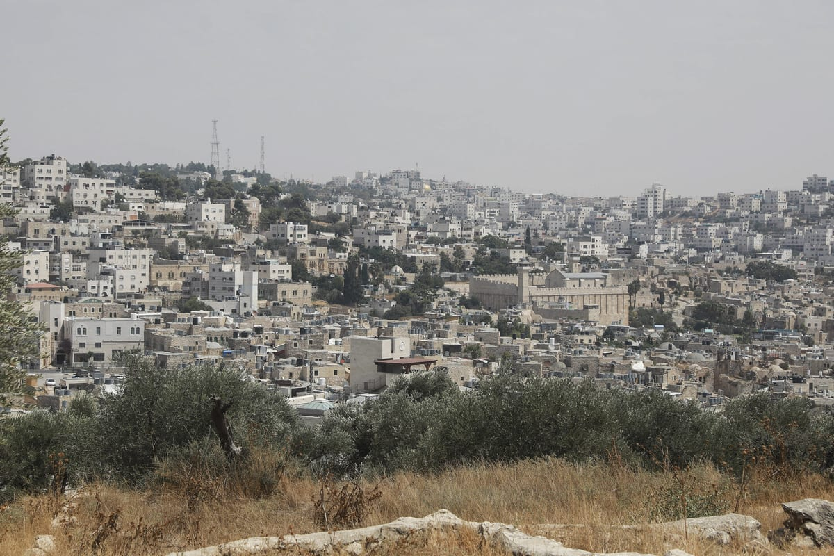 HEBRON, WEST BANK - SEPTEMBER 01: General view of settlements in the West Bank, 4 September 2020 [Issam Rimawi/Anadolu Agency]