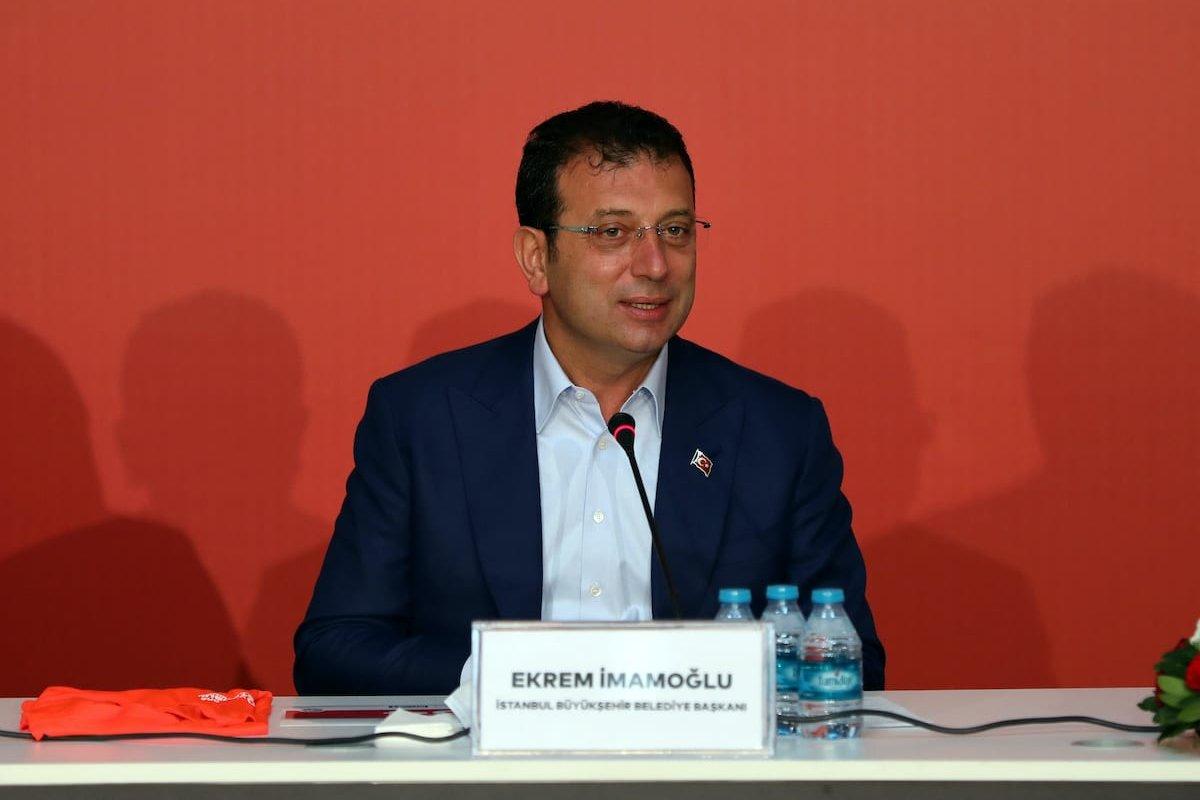 Istanbul Mayor Ekrem Imamoglu in Istanbul, Turkey on 8 September 2020 [Nevzat Yıldırım/Anadolu Agency]
