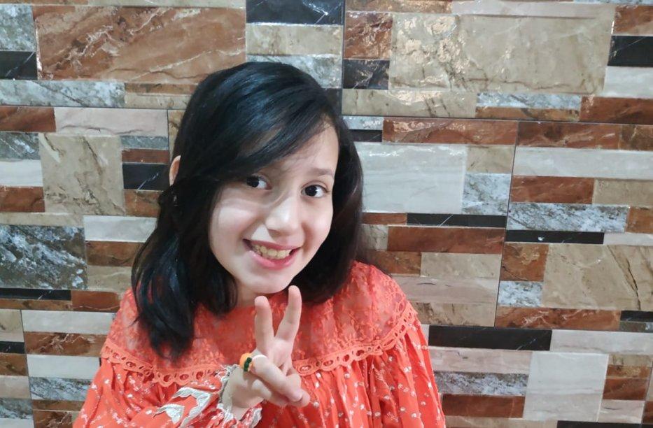 Razan Zidan, 9 – Khan Younis