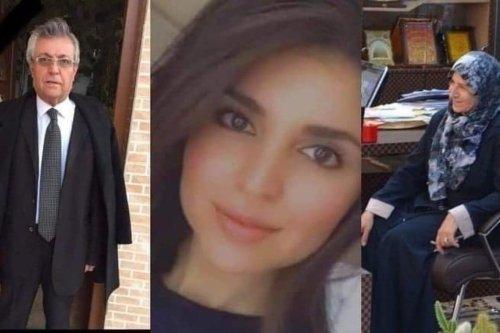 The Iraqi pharmacist Sheelan Dara and her parents [RamAbdu/Twitter]