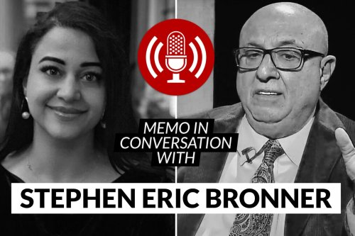 MEMO in conversation with Emeritus Prof Stephen Bronner