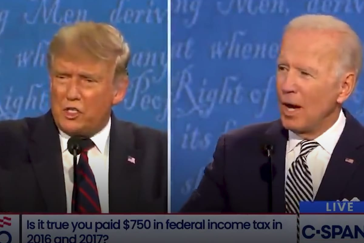Biden toTrump: 'Inshallah' we'll see your tax returns