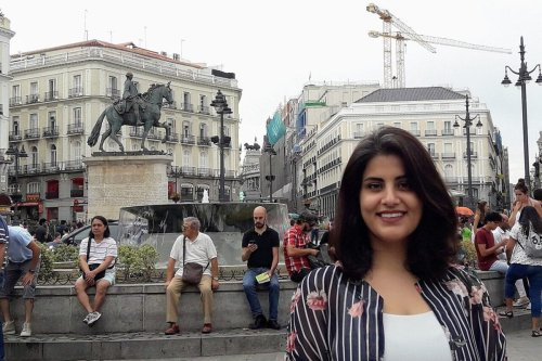 Saudi activist Loujain Al-Hathloul was arrested by Saudi forces in 2018 [Emna Mizouni / Wikipedia]