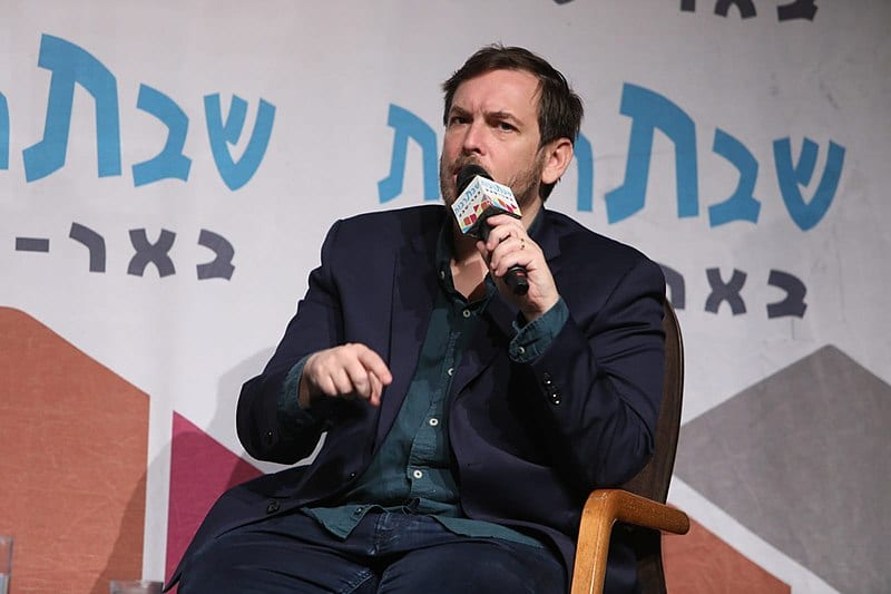 MK Assaf Zamir at Shabatarbut event in Beer Sheva, Israel [Wikimedia Commons]