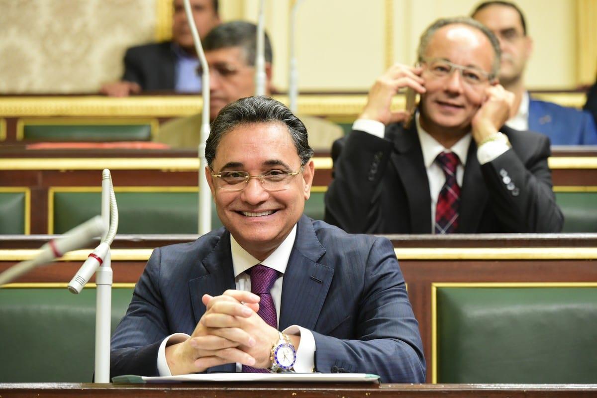 Former Egyptian journalist and MP, Abdul Rahim Ali on 2 October 2019 [AbdElrehem Ali Official/Flickr]
