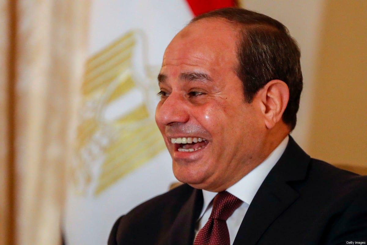 Egyptian President Abdul Fattah al-Sisi on January 19, 2020 [ODD ANDERSEN/AFP via Getty Images]