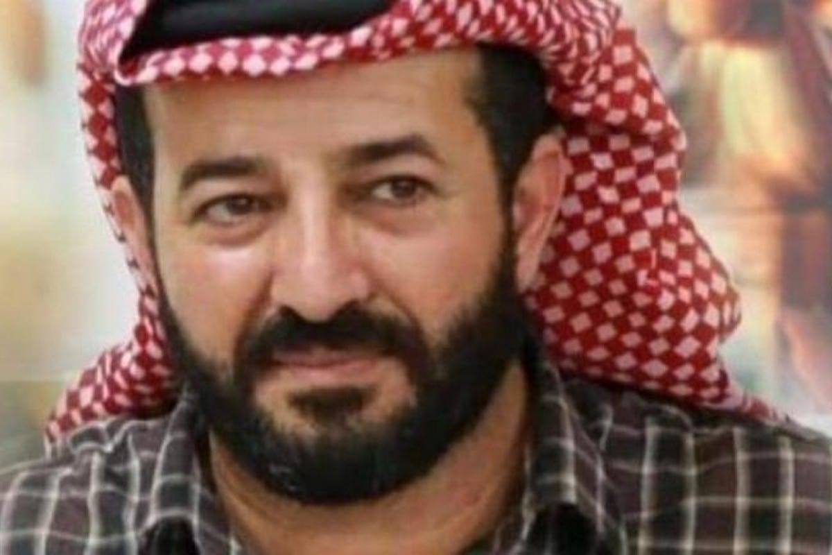 Palestinian prisonerMaher Al-Akhras, 2 October 2020 [16th October Group/ Palestine/Twitter]