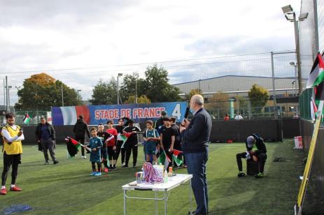 """""""My Return Tournament"""" event in support of Palestinian refugees' right of return in London on 13 October 2020 [My Return Campaign]"""