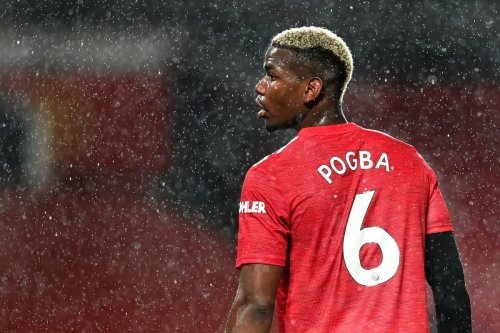 Footballer Paul Pogba of Manchester United during the Premier League match between Manchester United and Chelsea in Manchester, England on 24 October 2020 [Michael Regan/Getty Images]
