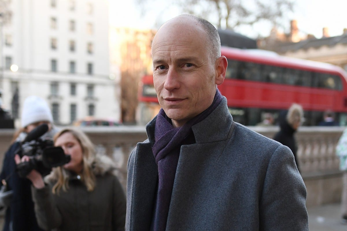 UK MP Stephen Kinnock of the Labour party in London, UK on 17 January 2019 [Leon Neal/Getty Images]