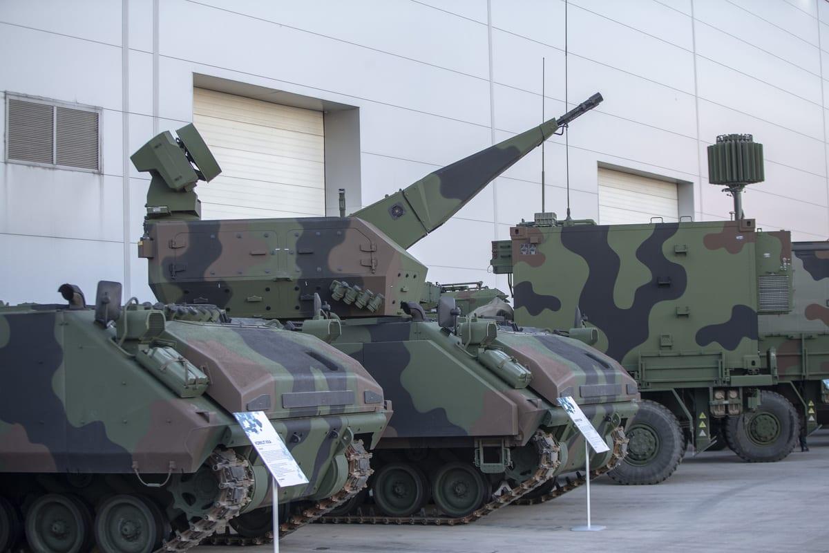 Weapon systems are seen in Ankara, Turkey on 12 November 2020 [Emin Sansar/Anadolu Agency]