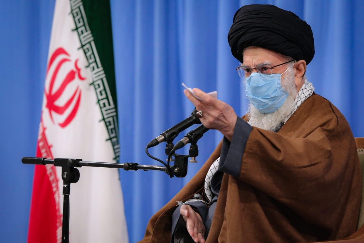 Iranian leader bans corona vaccines from U.S., mocks Capitol mayhem
