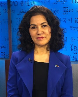 Executive Director of Campaign for Uyghurs, Rushan Abbas