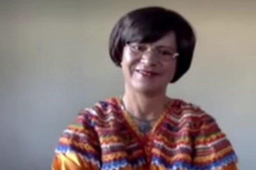 Professor Hassina Mouri, 7 November 2020 [eNCA/YouTube]