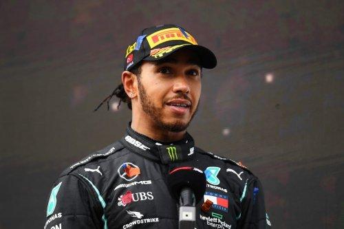Formula One champion Lewis Hamilton at Intercity Istanbul Park on 15 November 2020 [Clive Mason/Getty Images]