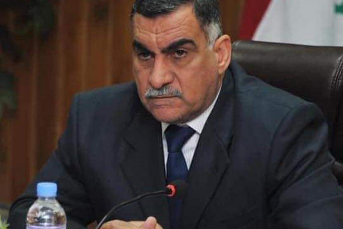 Raad Al-Haris, adviser to Prime Minister Mustafa Al-Kadhimi, 3 November 2020 [luayk9/Twitter]