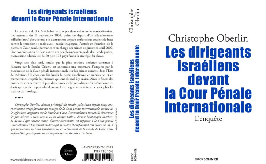 Christophe Oberlin's Book