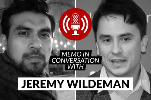 MEMO in conversation with Jeremy Wildeman