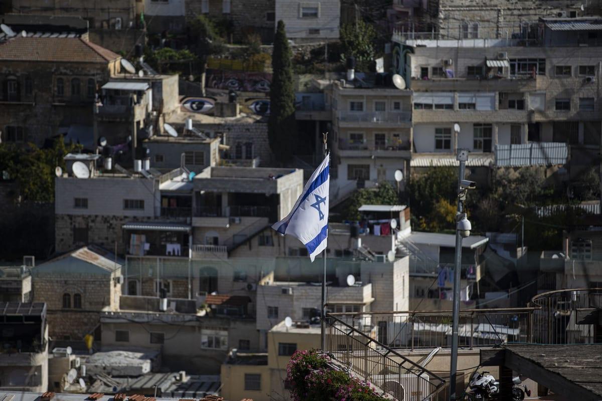 A general view of Batan al-Hawa neighbourhood of Silwan in East Jerusalem on December 11, 2020 [Mostafa Alkharouf/Anadolu Agency]