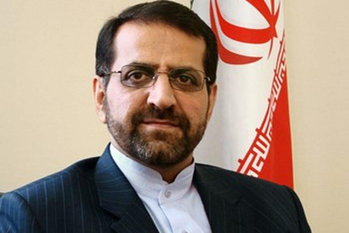 Iran's ambassador Oman, Ali Najafi Khoshroudi, 12 December 2012 [Bishkek Embassy of Iran/Wikipedia]
