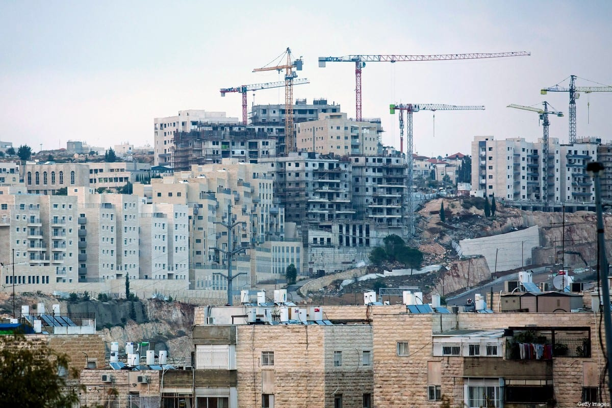 A general view over a part of the Jewish East Jerusalem settlement of Ramat Shlomo on November 16, 2020 in Jerusalem [Amir Levy/Getty Images]