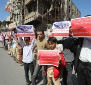 US approves all deals involving Yemen's Houthis for one month