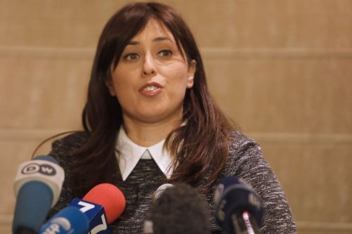 Israeli Ambassador to the UK Tzipi Hotovely in Jerusalem on 11 January 2017 [MENAHEM KAHANA/AFP/Getty Images]
