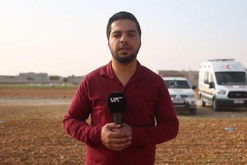 Bahaa Al-Halabi [Screengrab/Syria TV]
