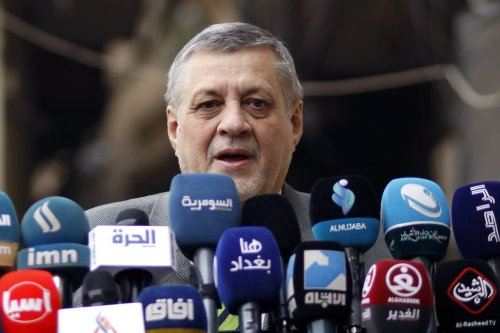 Former Slovak Minister of Foreign Affairs, and newly-appointed UN Libya envoy, Jan Kubis on November 29, 2018 in Iraq [HAIDAR HAMDANI/AFP via Getty Images]