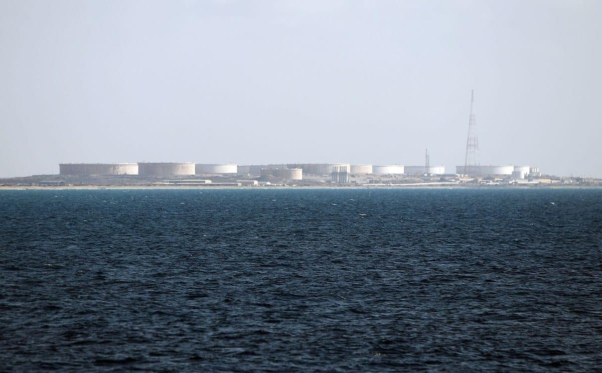 The oil terminal of Marsa al-Hariga in Libya on 9 April 2014 [ABDULLAH DOMA/AFP via Getty Images]