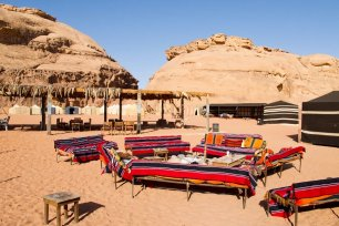 Wadi Rum Bedouin-style camp in Jordan on 5 March 2011 [Dan Lundberg/Flickr]