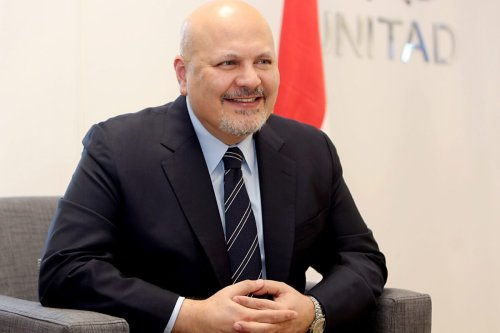 ICC new chief prosecutor Karim Khan in Baghdad on July 27, 2019 [SABAH ARAR/AFP via Getty Images]