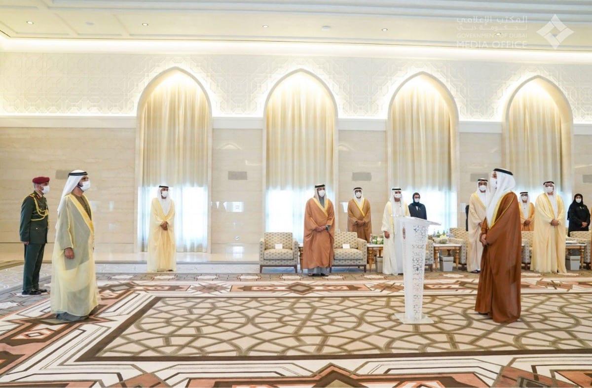 Mohammed Mahmoud Al-Khaja the first Emirati ambassador to Israel on 14 February 2021 [WAM Agency]