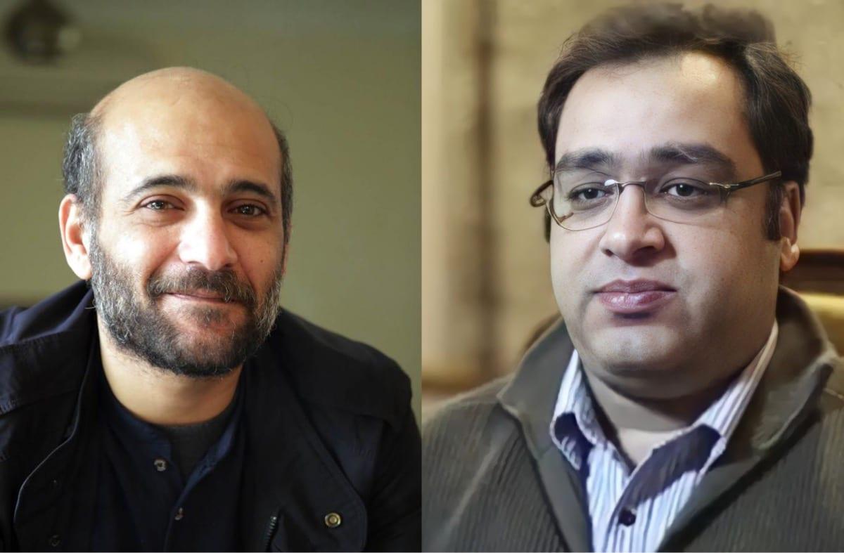 Ramy Shaath (L) [AmnestyAR/Twitter, Zyad El-Elaimy (R) [haythamabokhal1/Twitter]