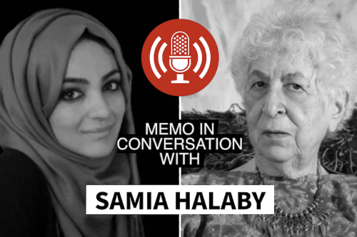MEMO in conversation with Samia Halaby