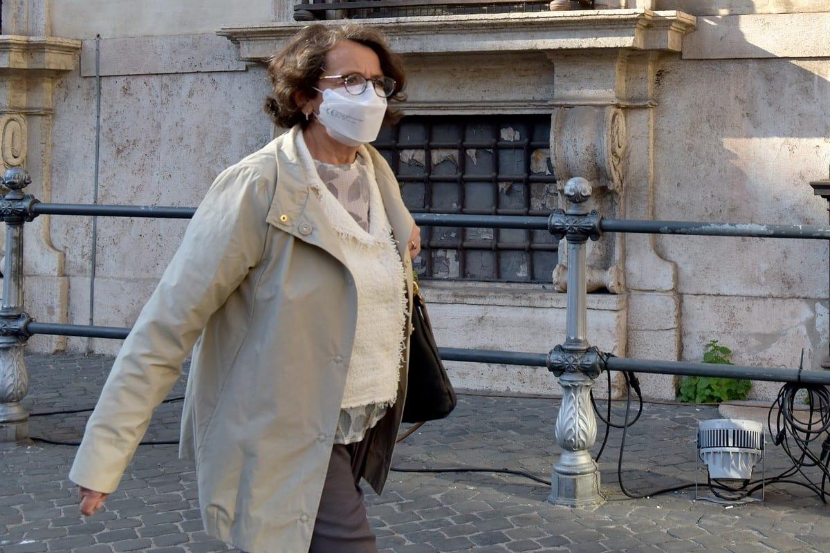 Italian Deputy Foreign Minister Marina Sereni in Rome, Italy on 1 March 2021 [Simona Granati - Corbis/Getty Images]
