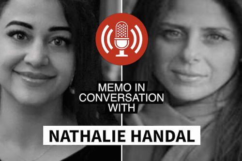 MEMO in conversation with: Natalie Handal