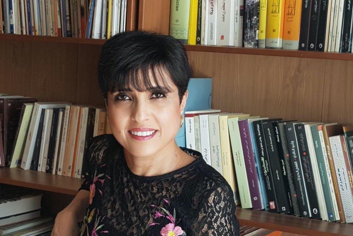 Palestinian author Huzama Habayeb