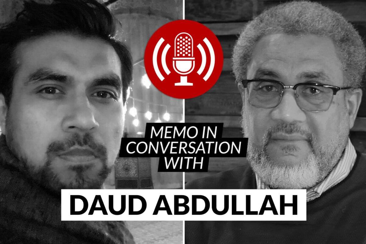 MEMO in conversation with: Dr Daud Abdullah