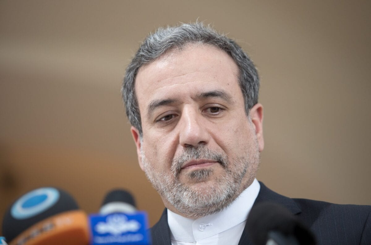 Abbas Araghchi, political deputy at the Ministry of Foreign Affairs of Iran [ALEX HALADA/AFP via Getty Images]