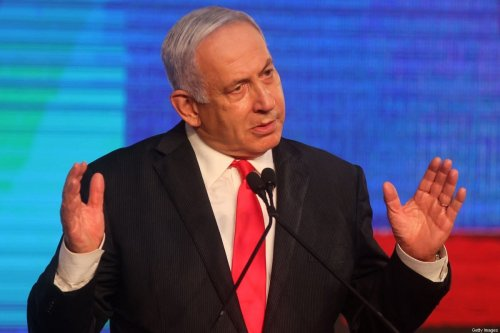 Israeli Prime Minister Benjamin Netanyahu on March 24, 2021 [EMMANUEL DUNAND/AFP via Getty Images]
