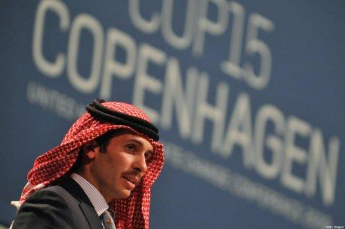 Jordan Prince Hamzah Bin Al Hussein in Copenhagen on December 17, 2009 [ATTILA KISBENEDEK/AFP/Getty Images]