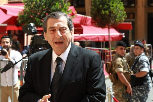 Lebanese parliament's Deputy Speaker Elie Ferzli [ANWAR AMRO/AFP via Getty Images]