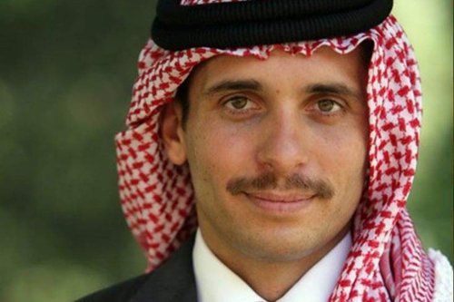 Prince Hamzah Bin Al Hussein, half-brother of Jordan's King Abdullah II [Wikipedia]