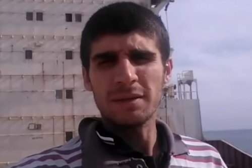 Thumbnail - Syrian sailor freed after 4 years on cargo ship off Egyptian coast