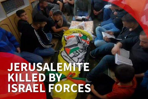 Palestinians mourn Jerusalemite killed by Israel forces