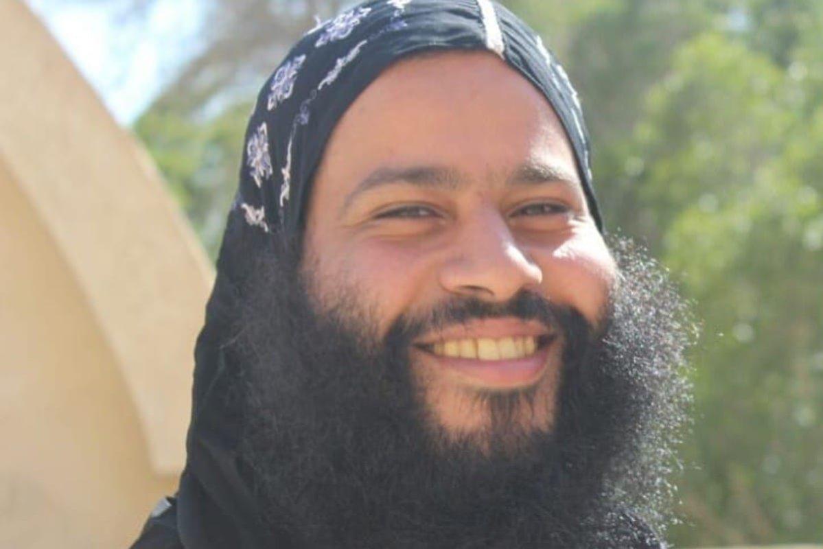 Coptic Christian monk Wael Mikhil (Father Isaiah) [AmnestyAR/Twitter]