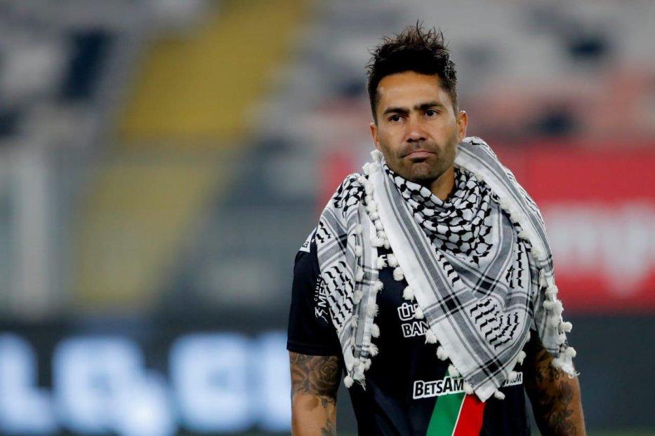 Luis Jiménez, captain of Chile's Club Deportivo Palestino [Club Deportivo Palestino]